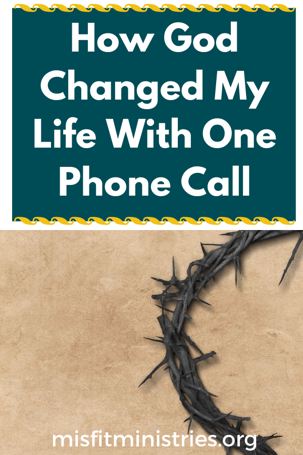 How God Changed My Life With One Phone Call | My Christian Testimony