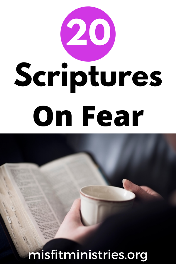 20 scriptures about fear