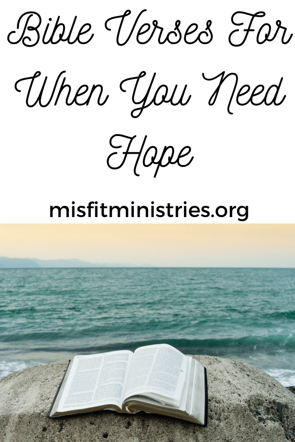 Bible verses for when you need hope | Scriptures on hope