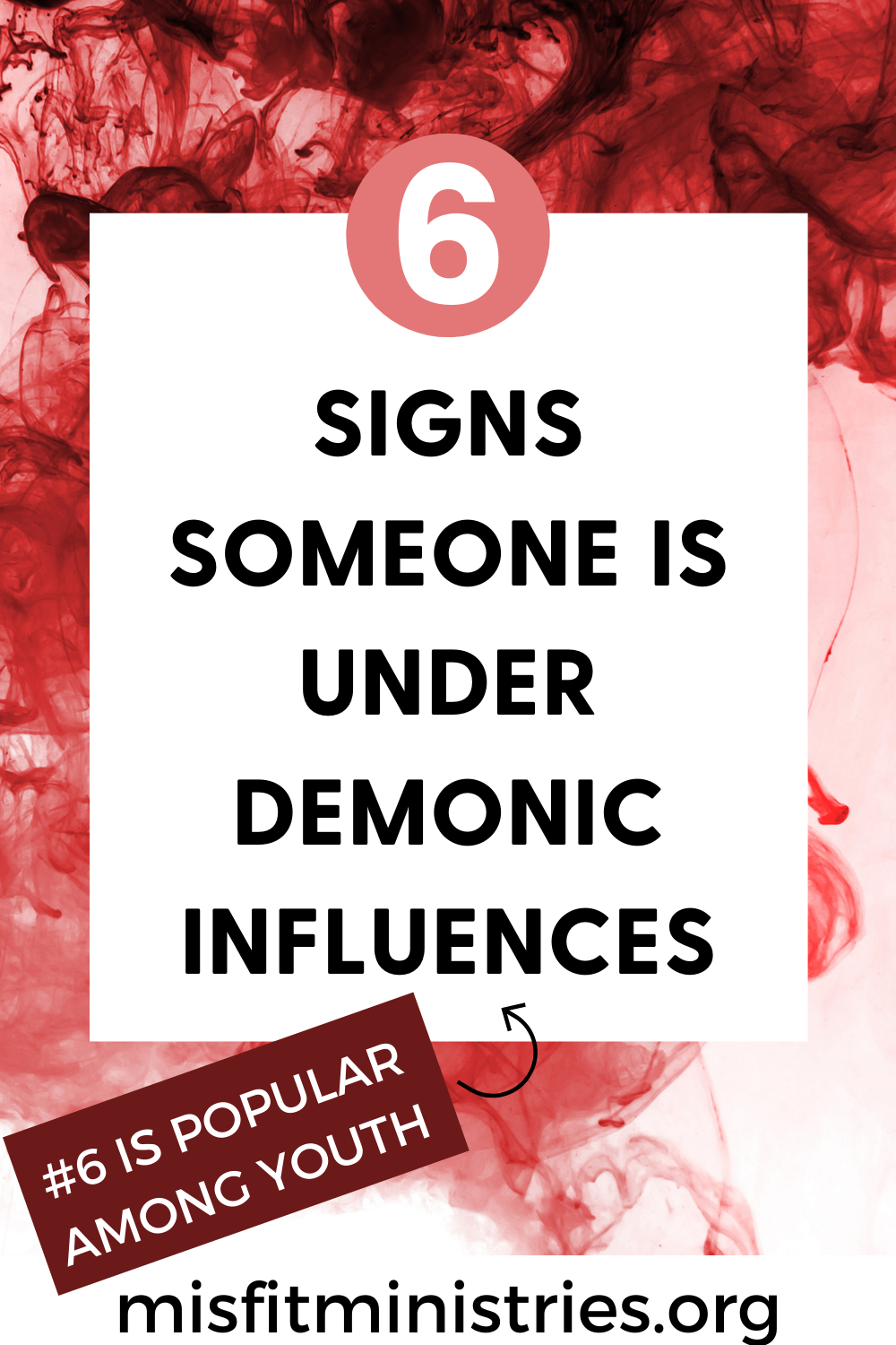 SIGNS SOMEONE IS UNDER DEMONIC INFLUENCES