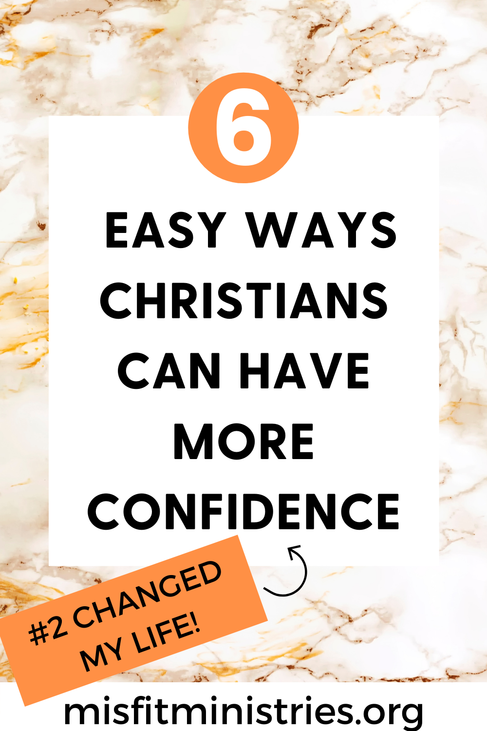 HAVE MORE CONFIDENCE