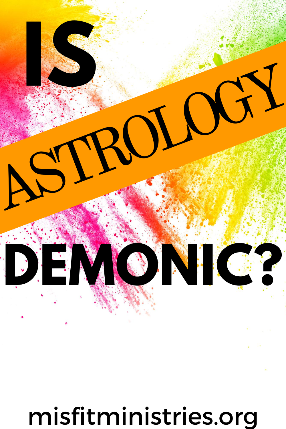 Is Astrology Demonic