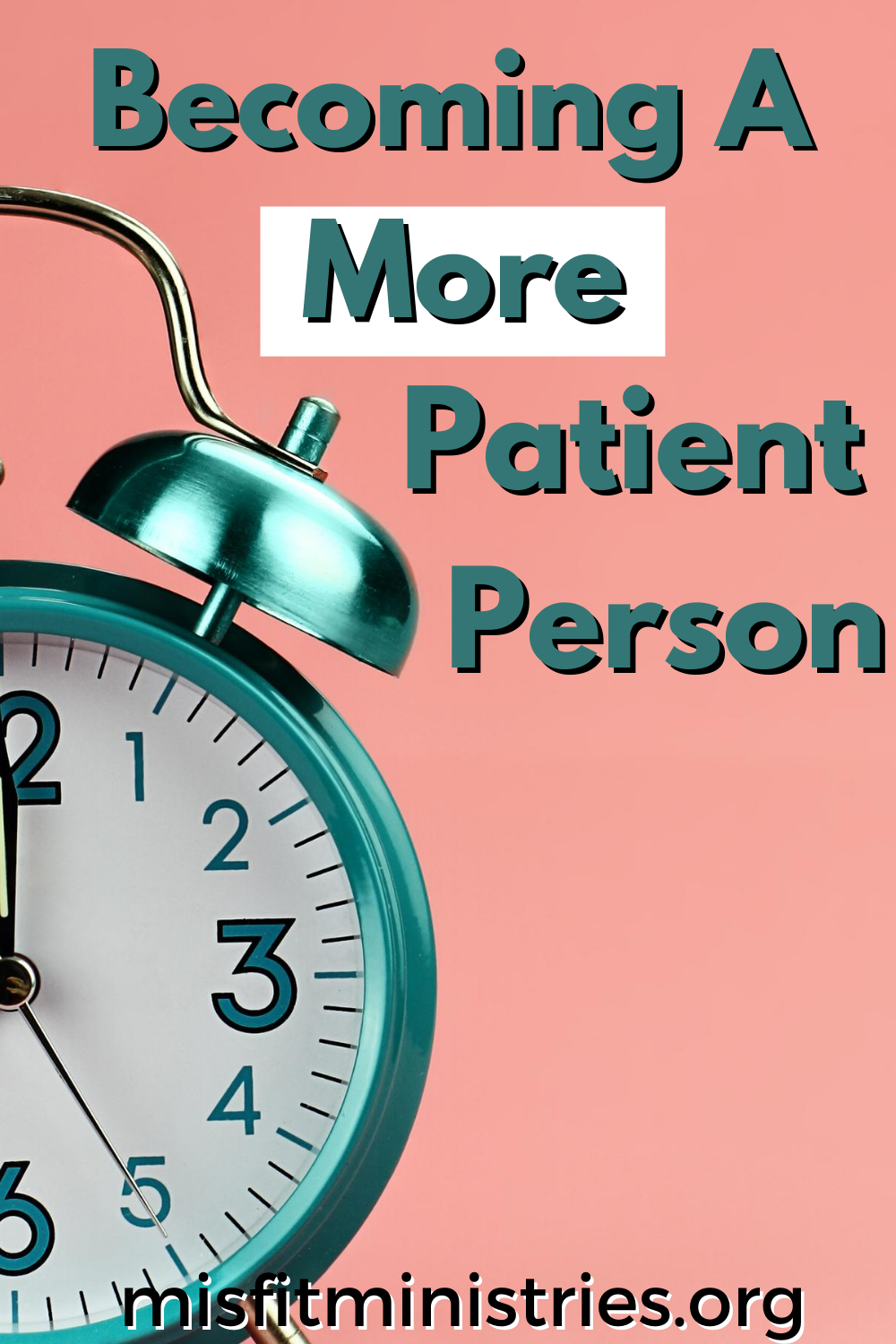become a patient person