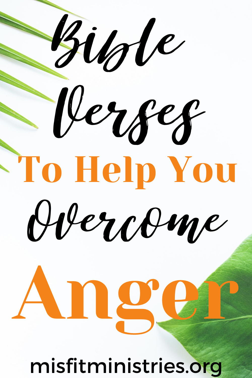 scriptures to overcome anger