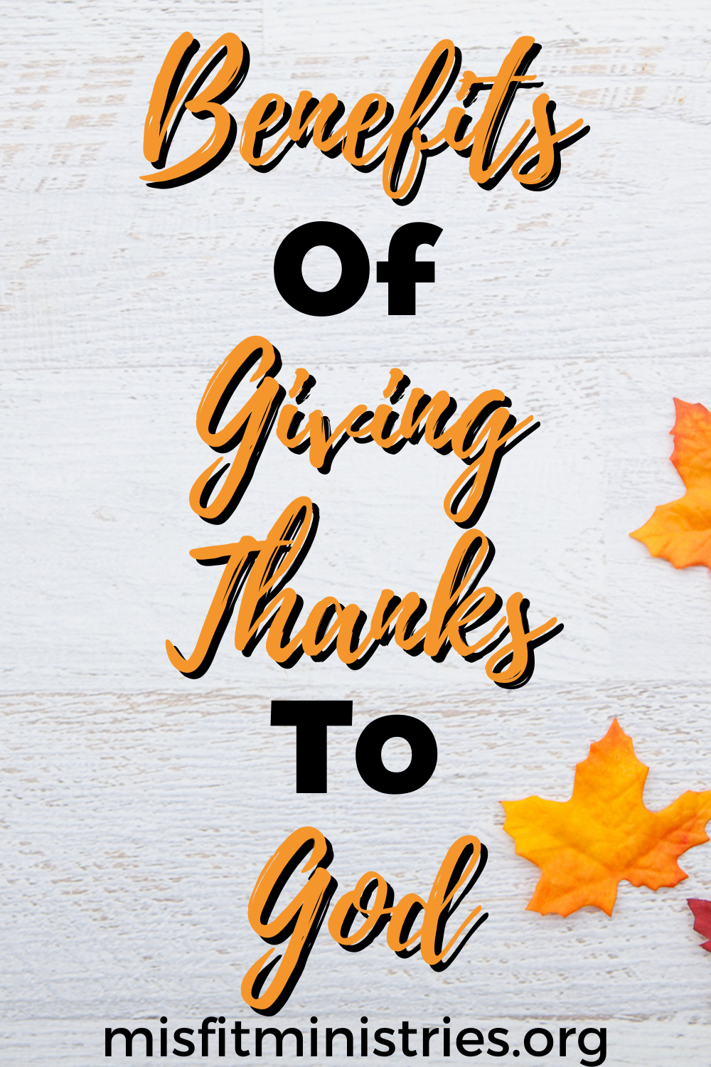 benefits of giving thanks to God