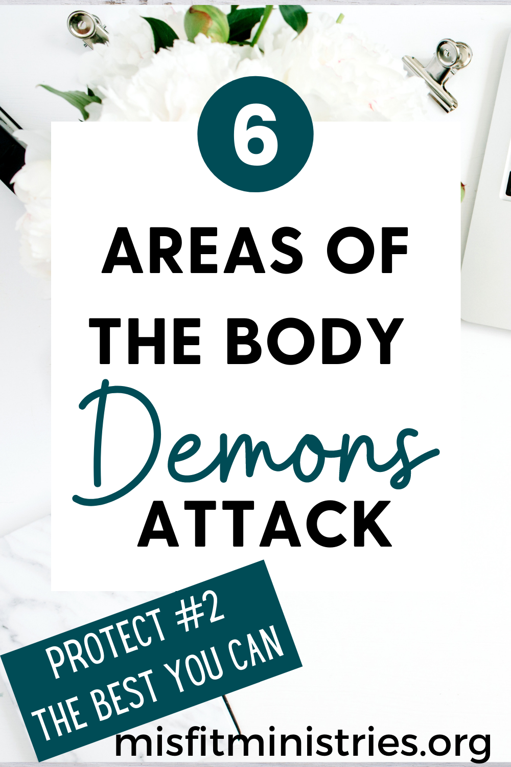 Areas of the body demons attack