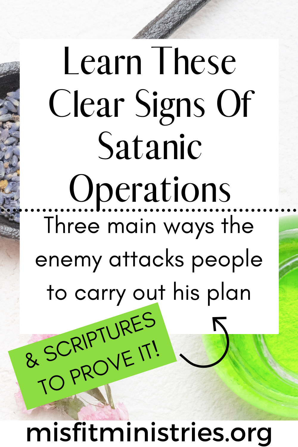 WAYS THE ENEMY ATTACKS PEOPLE